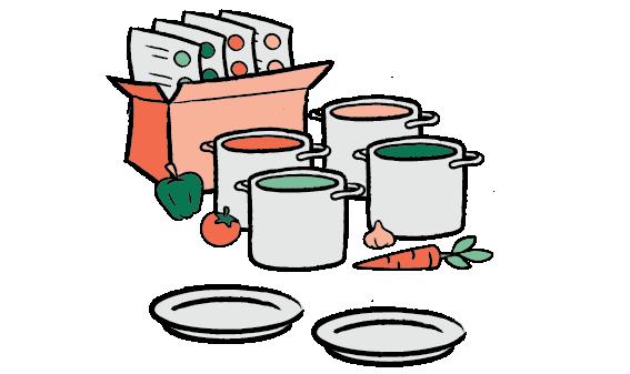četiri recepta za četvero