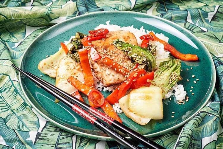 Riba-s-5-začina-i-pak-choi-sa-sezamom-recept
